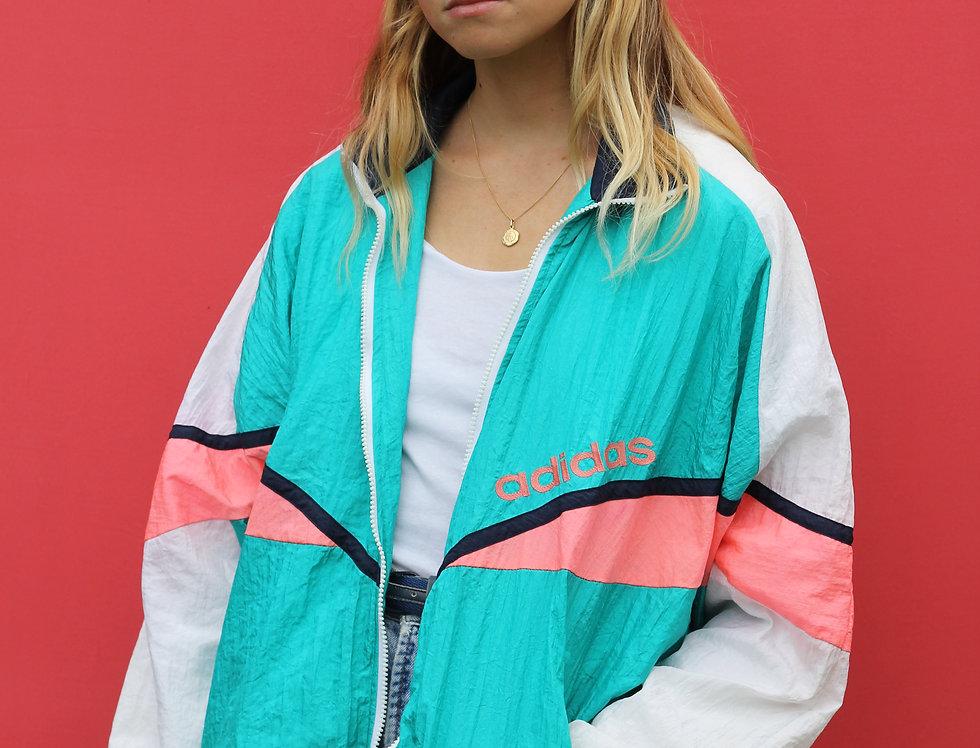 80s Adidas Fluro Jacket