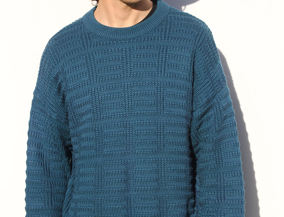 Teal Knit