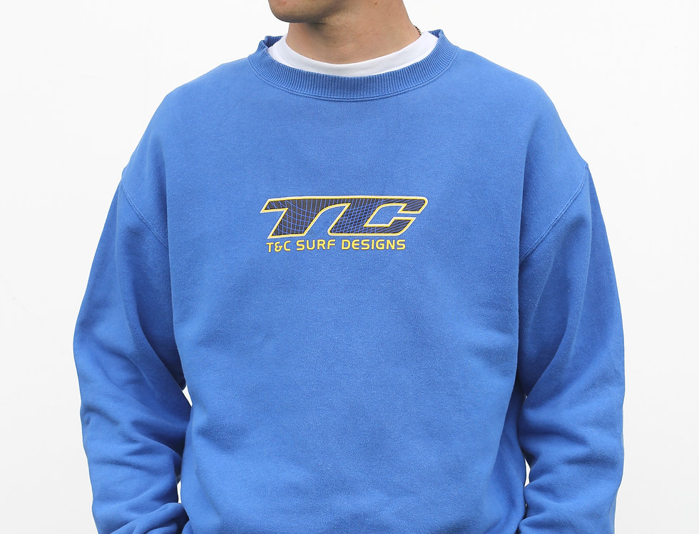 Vintage Town & Country Surf Crew Neck