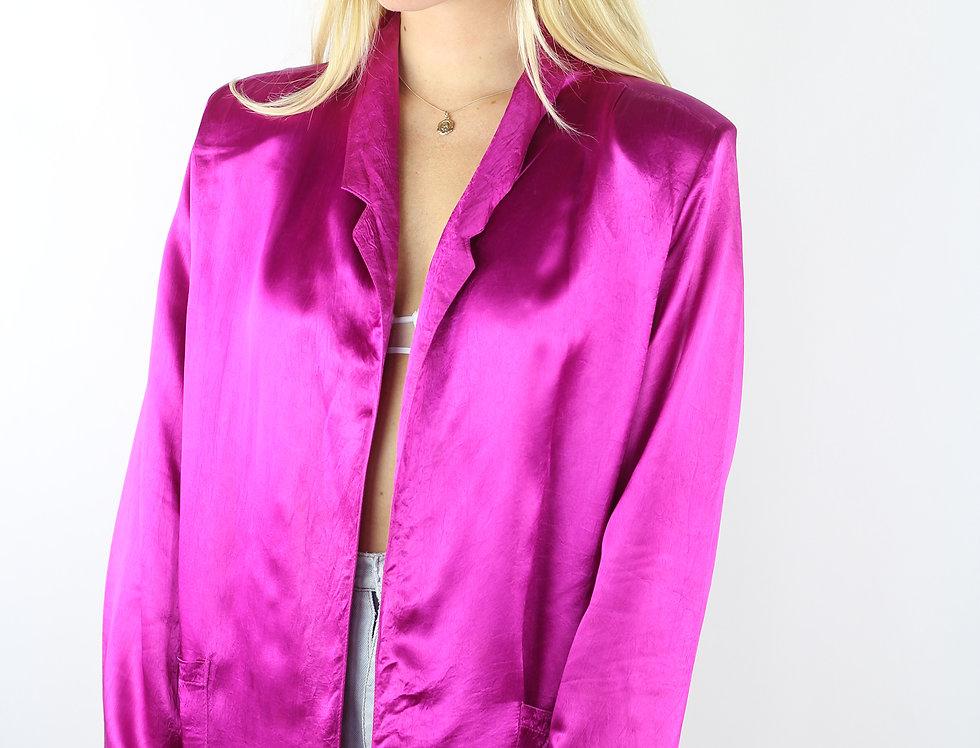 80s Hot Pink Blazer