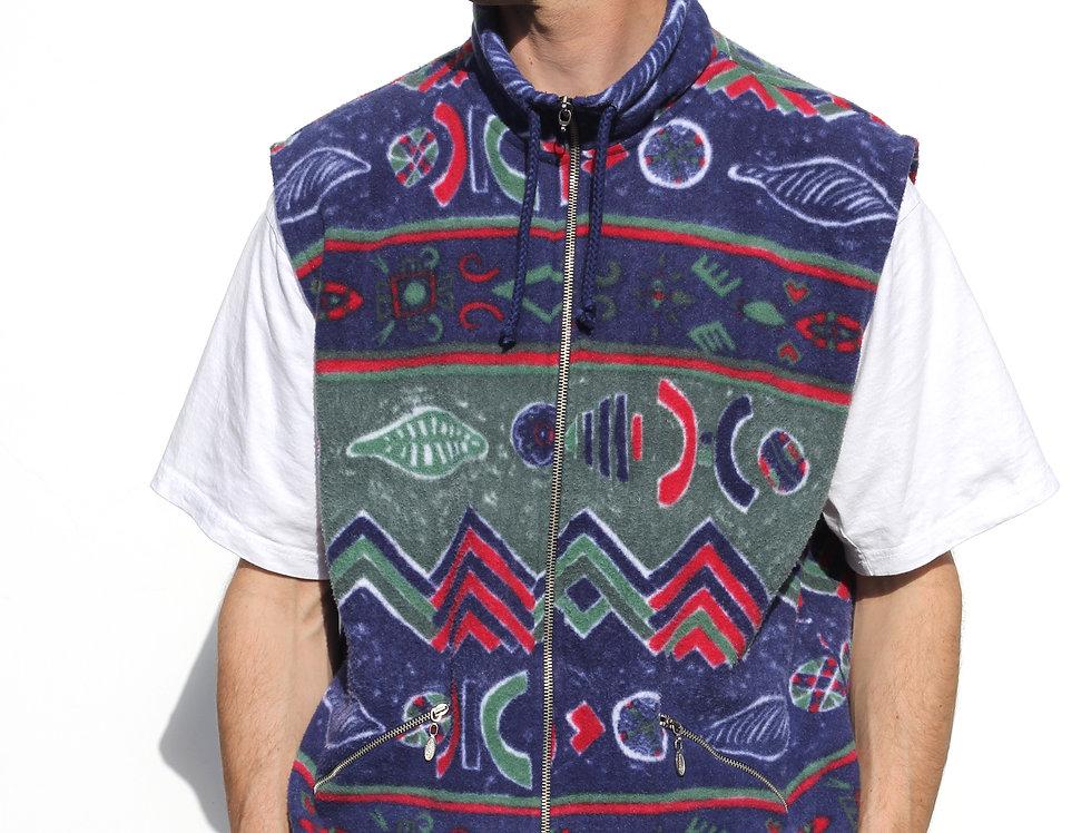 Campione 90'S Fleece Vest