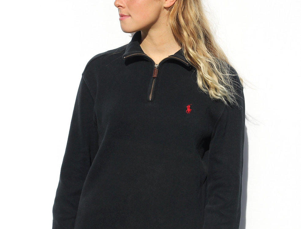Ralph Lauren Polo Quarterzip Black