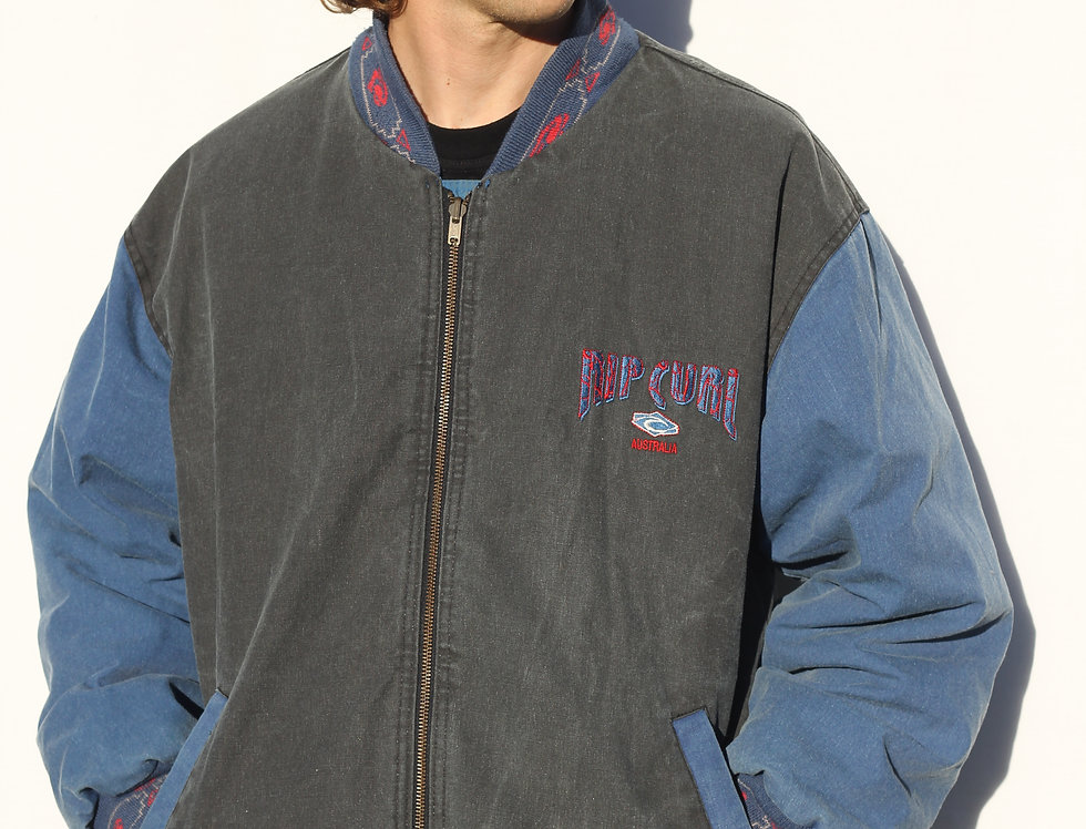 Vintage Reversible Rip Curl Jacket