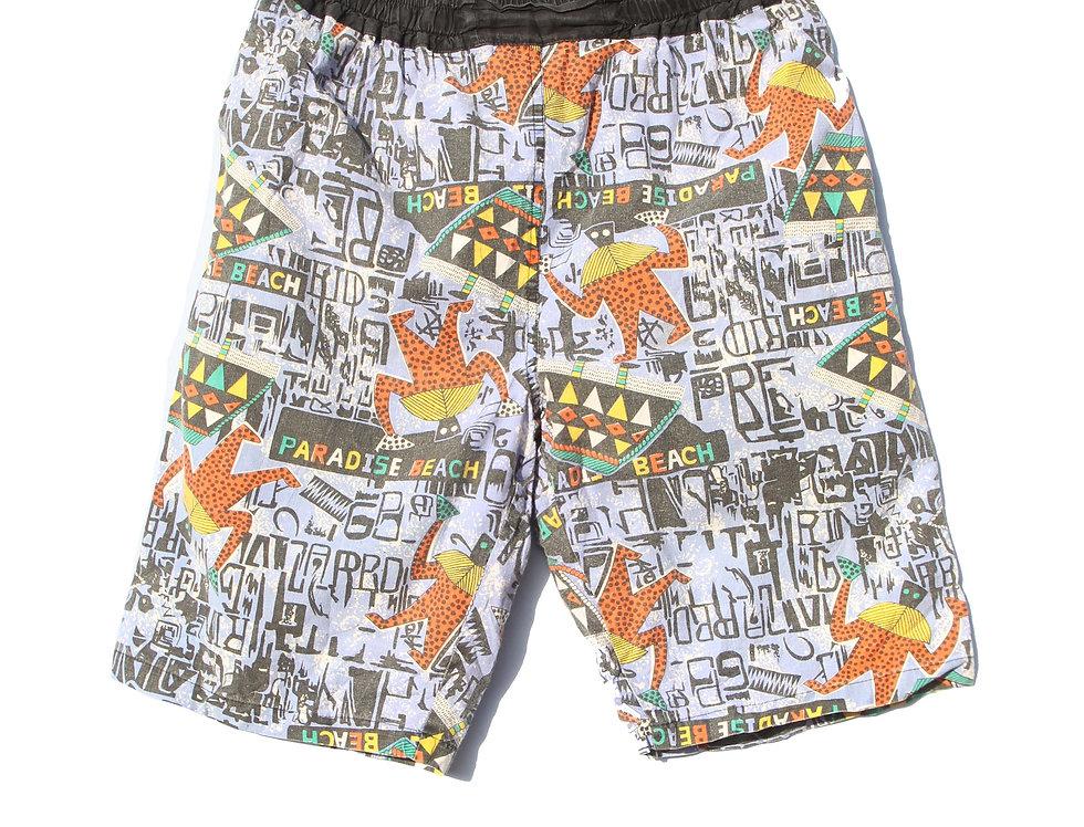90's Paradise Beach Shorts