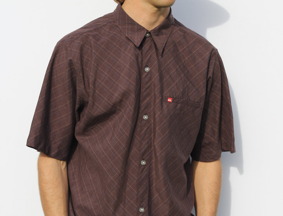 Brown Quiksilver Shirt