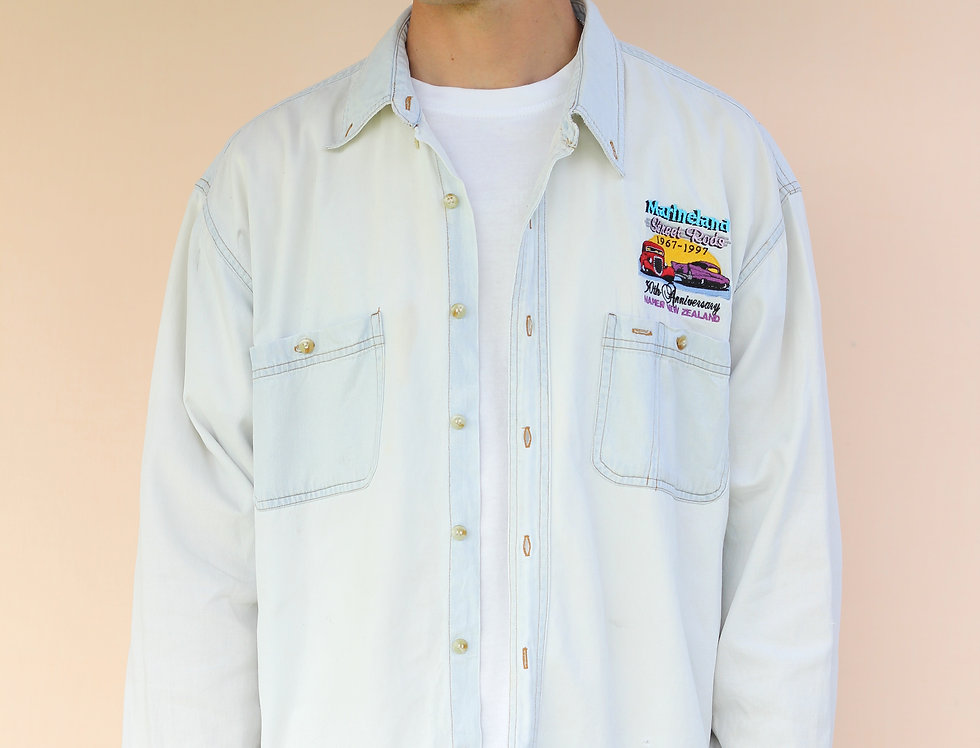 1997 Street Rod Denim Shirt