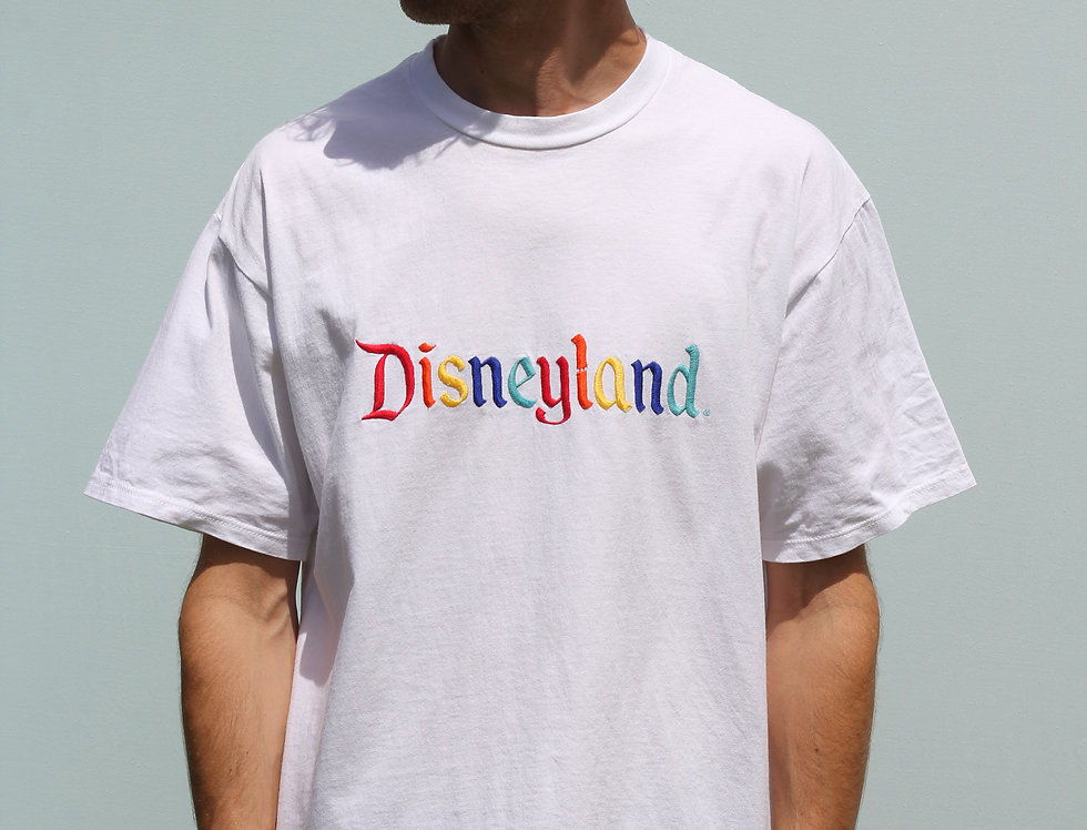 Disneyland Rainbow Embroidery T