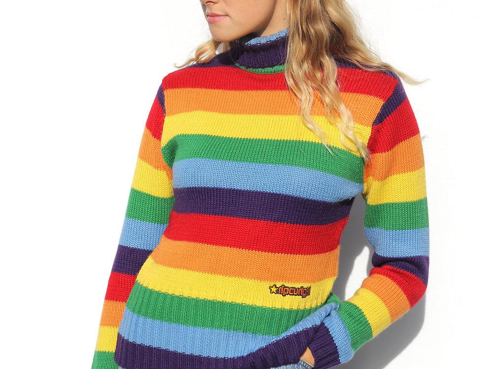 Rip Curl Girl Retro Rainbow Knit