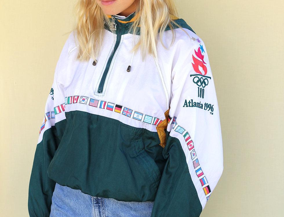 Atlanta Olympics 1996 Starter Jacket