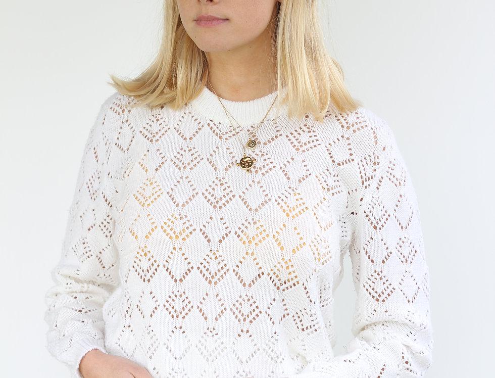 Vintage White Knit