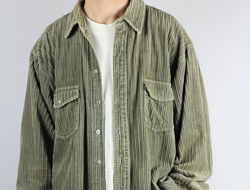 Olive Corduroy Shirt