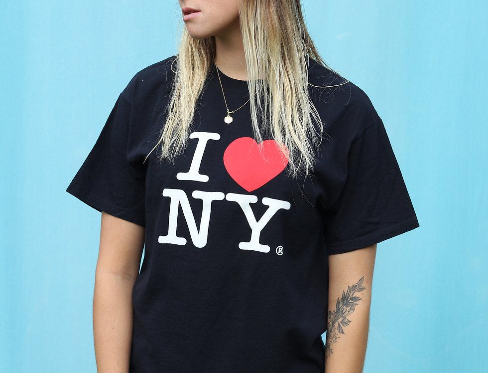 Black I Love NY T-shirt