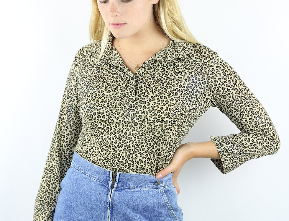 Leopard 2000s Top