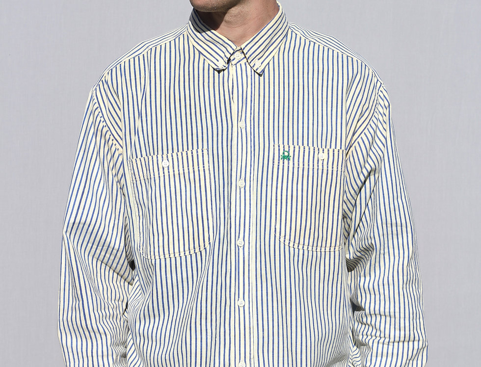 Benetton Stripe Shirt