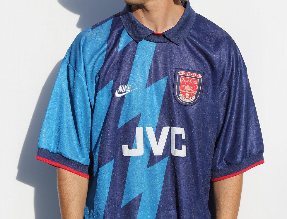 1995-1996 Arsenal JVC Nike Football Jersey