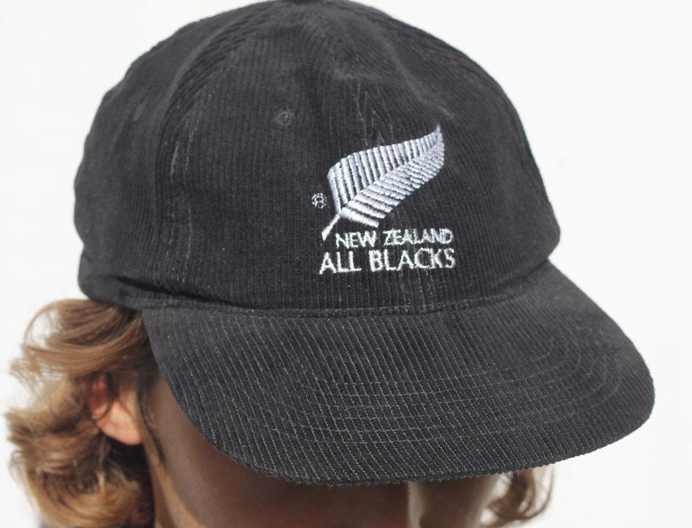 All Blacks Corduroy Hat