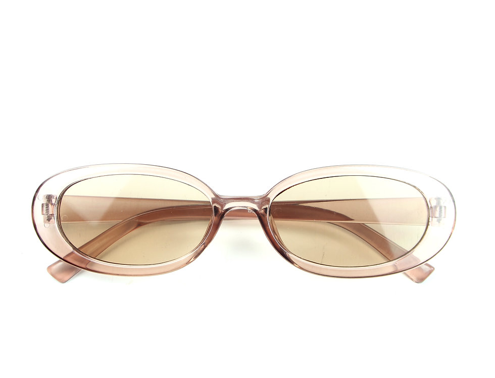 Pink Gloss Vintage Glasses
