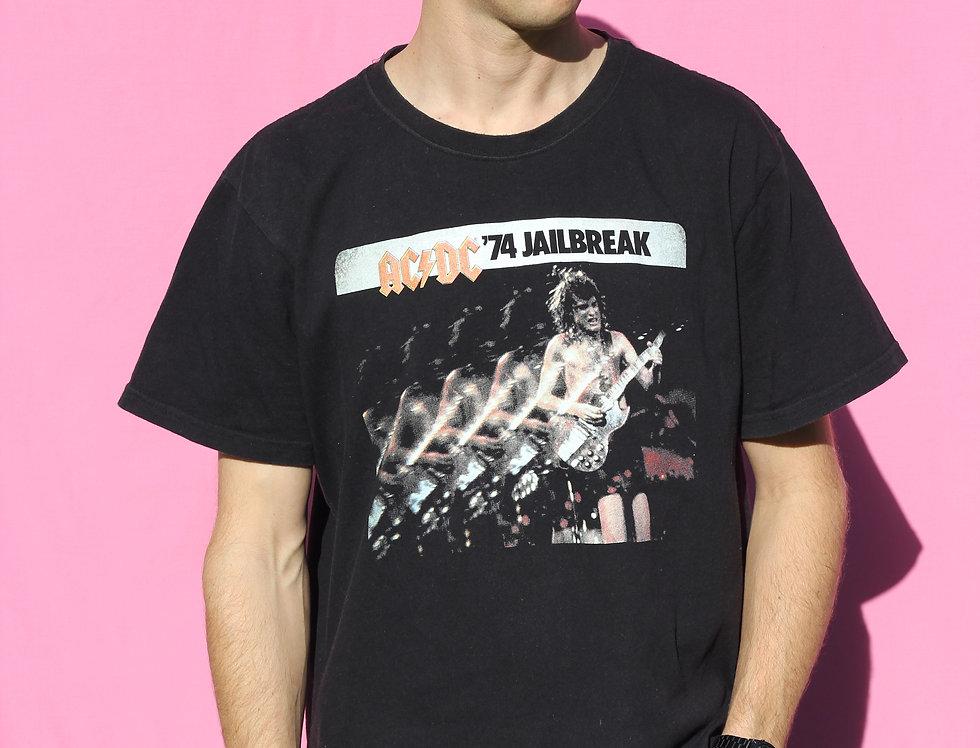 Vintage ACDC '74 Jailbreak Tshirt