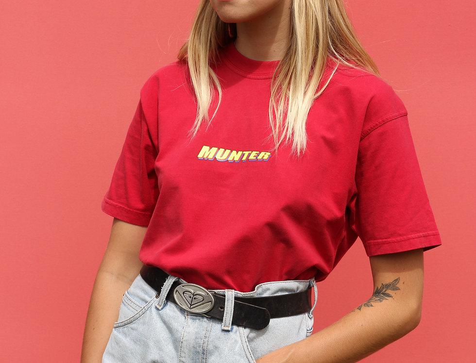 Munter T Red/ Yellow