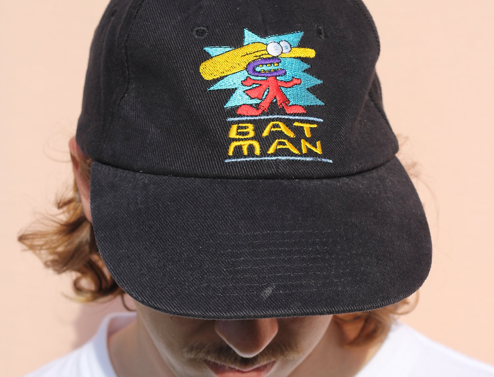 Bat Man Cricket Hat