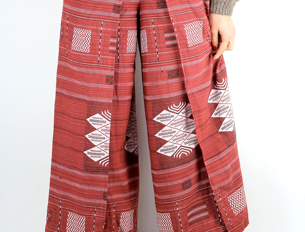 Red Festival Pants