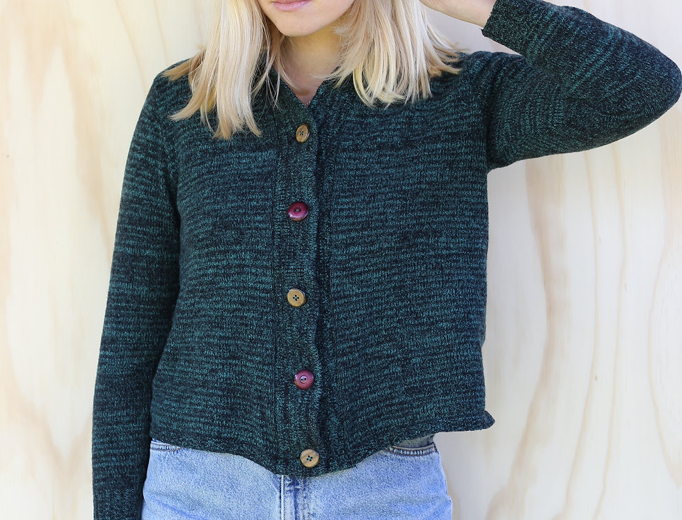 Forest Green Cardi