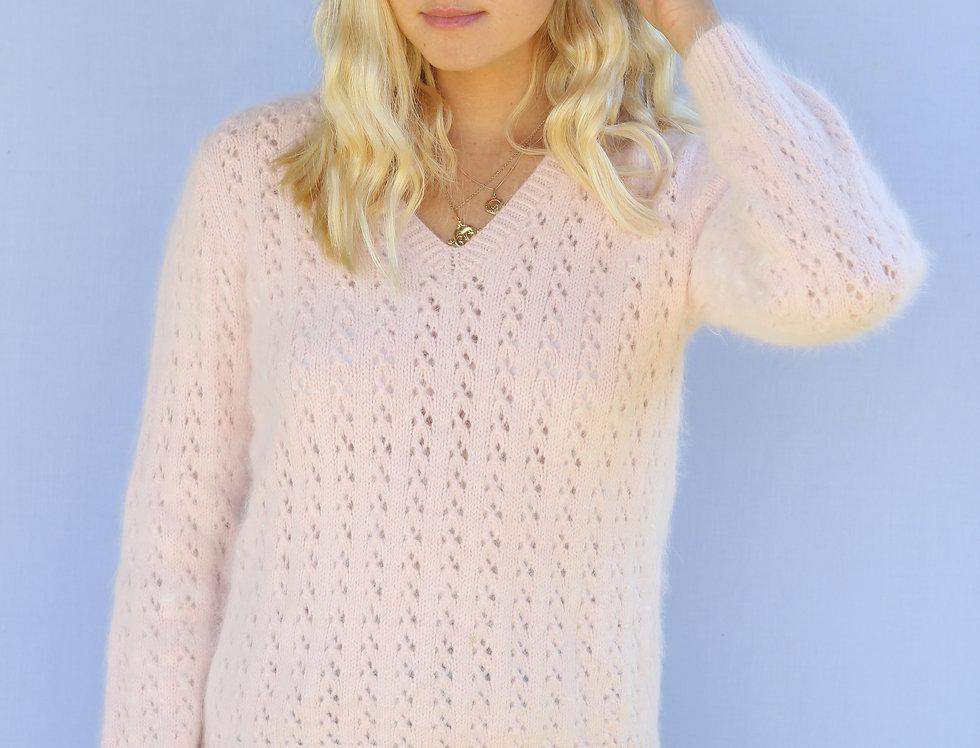 Blush Pink Soft Knit