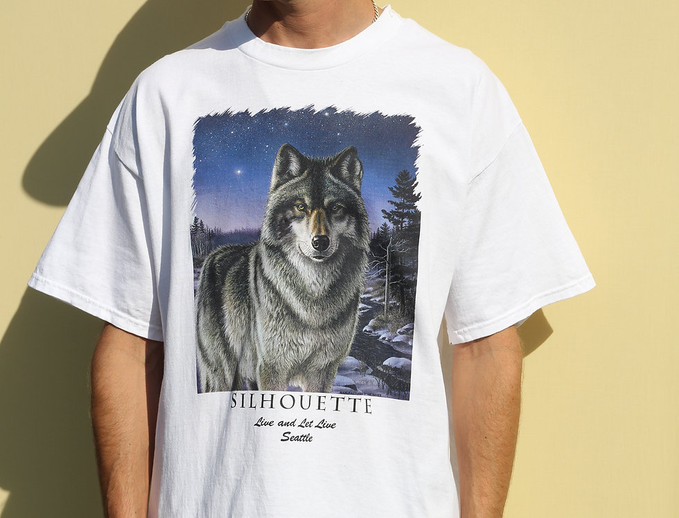 Silhouette Wolf 1993 T