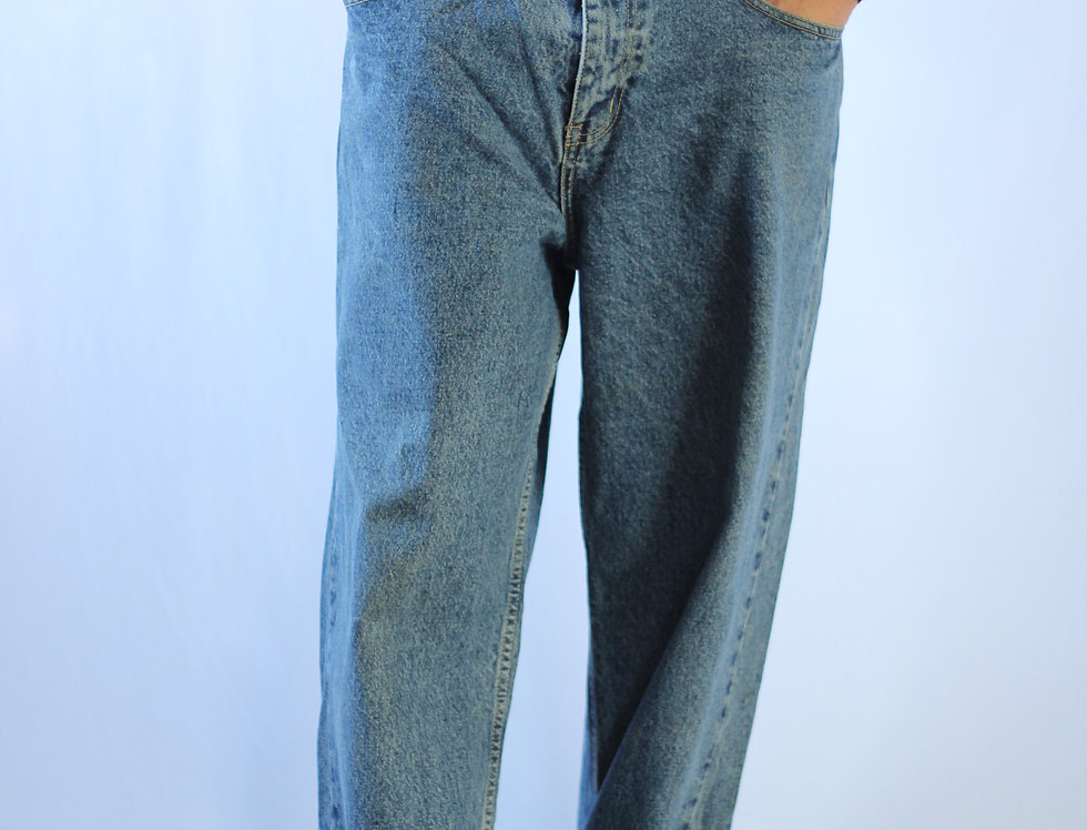 Baggy Straight Leg Jeans