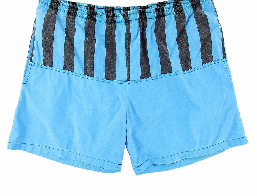 Blue Striped Shorts (NZ Made)