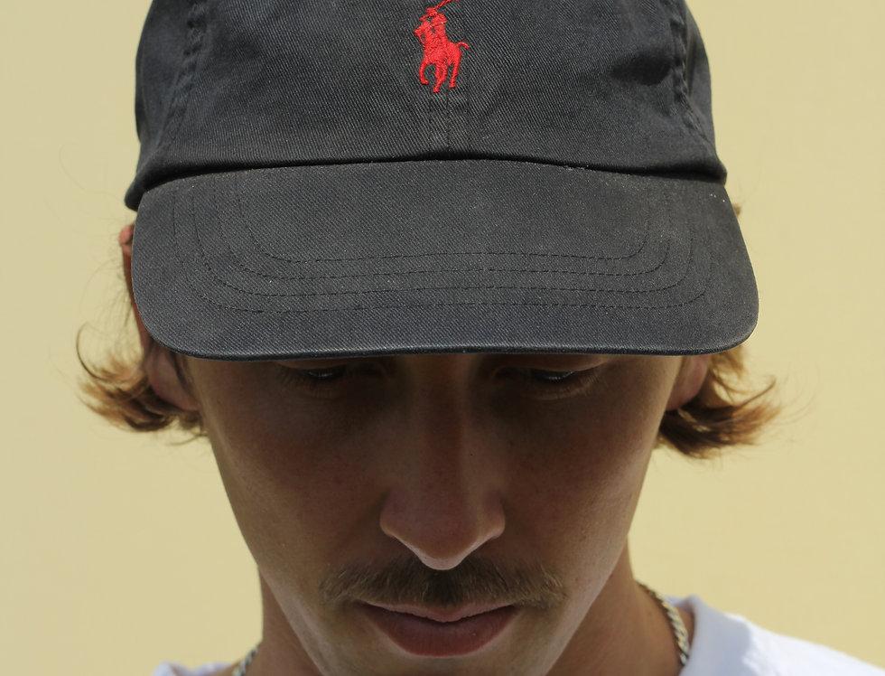 Black Polo Ralph Lauren Cap