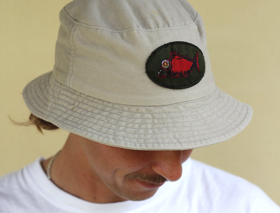 Lion Red Bucket Hat