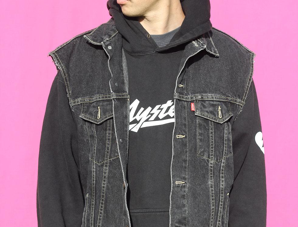 Black Levi's Jeans Vest