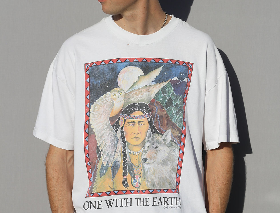 1992 One With The Earth T