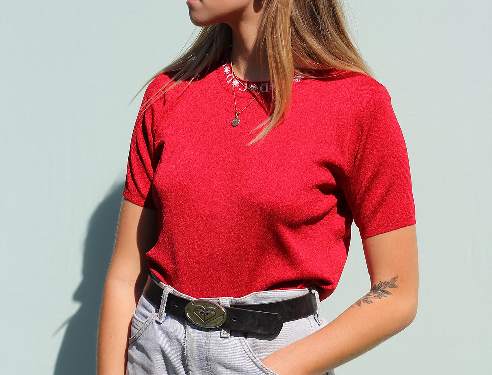 90s Red Top