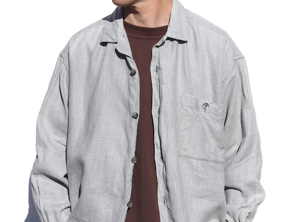 Rixon Groove Linen Shirt (Made in NZ)