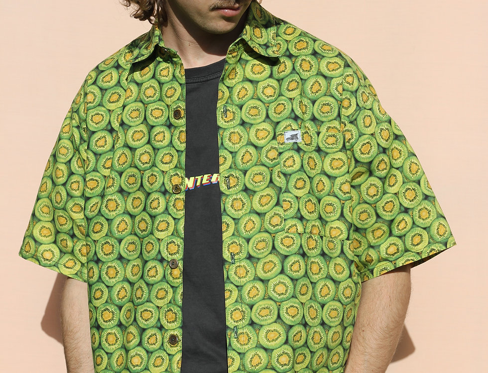 Lost in the 60's Kiwifruit Shirt