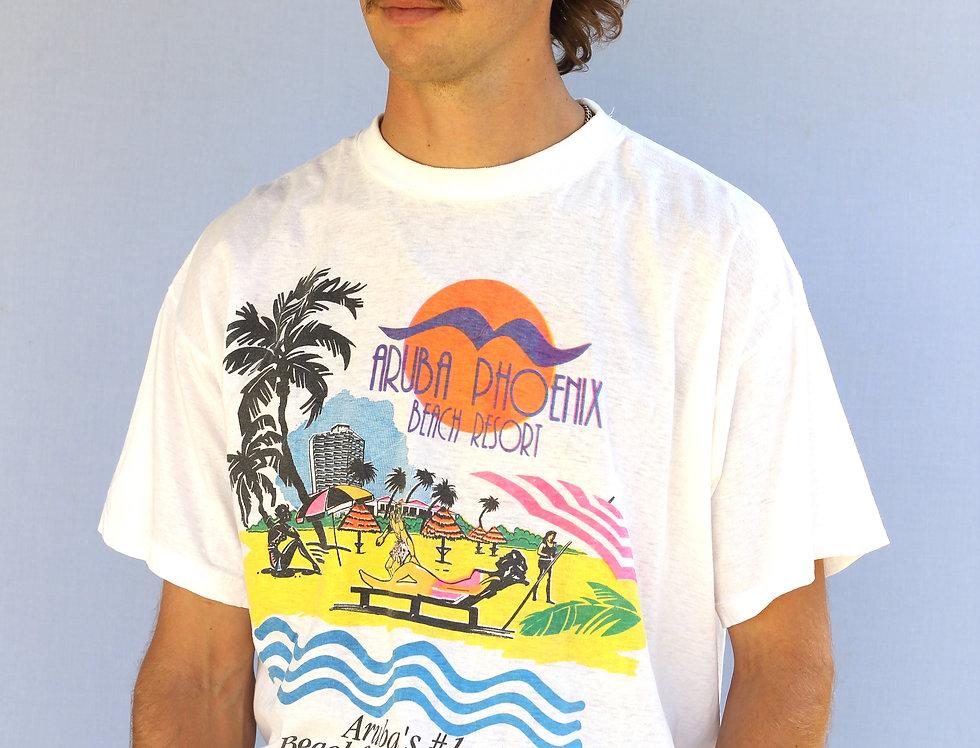 Aruba Phoenix Beach Resort Vintage T