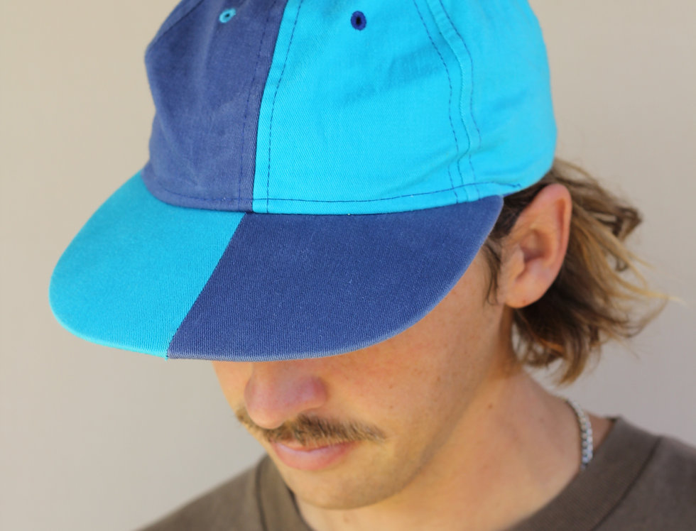 Two Tone Blue Hat