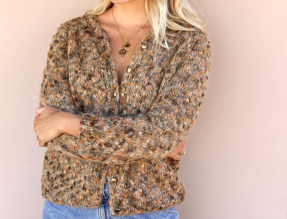 Wool Knit Cardi