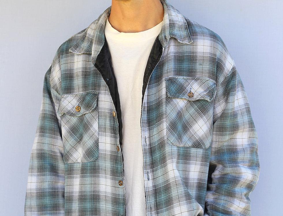 Blue Warm Flannel Shirt