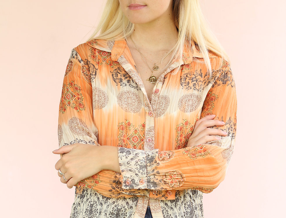 70's style Sports Girl Shirt