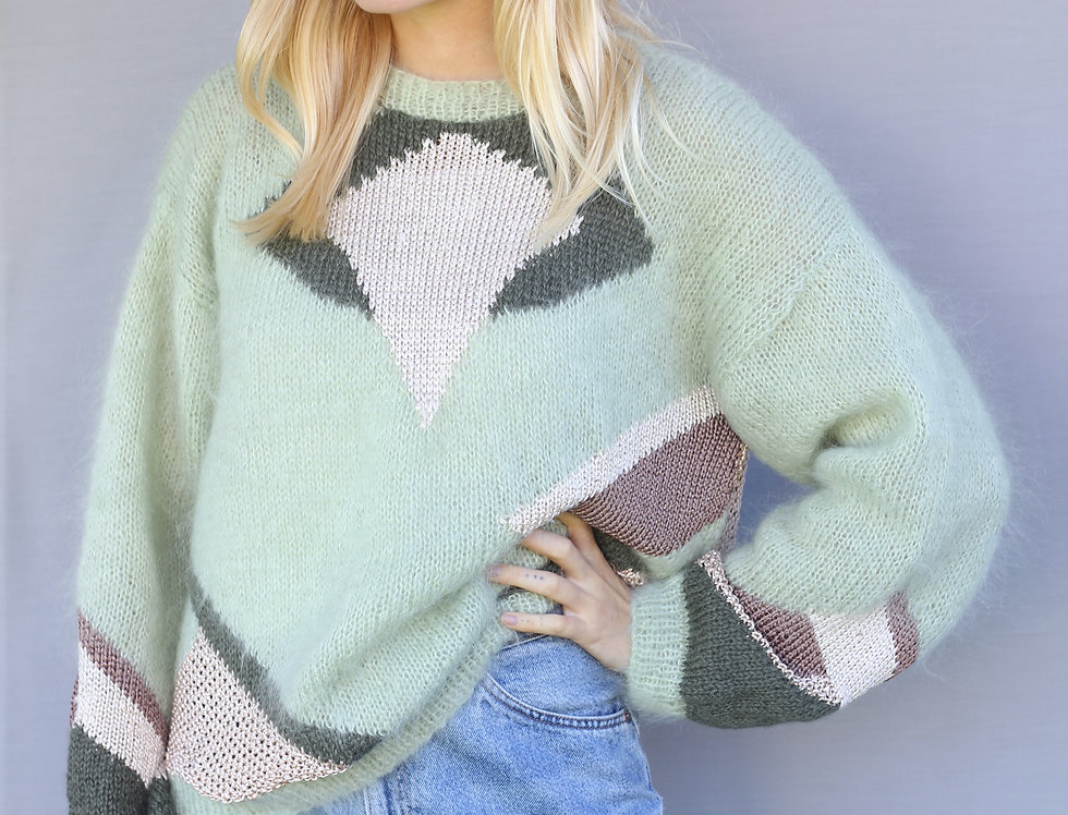 Fuzzy Wool Knit
