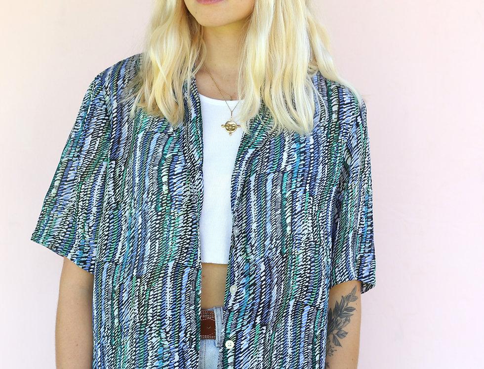 Aqua Summer Shirt