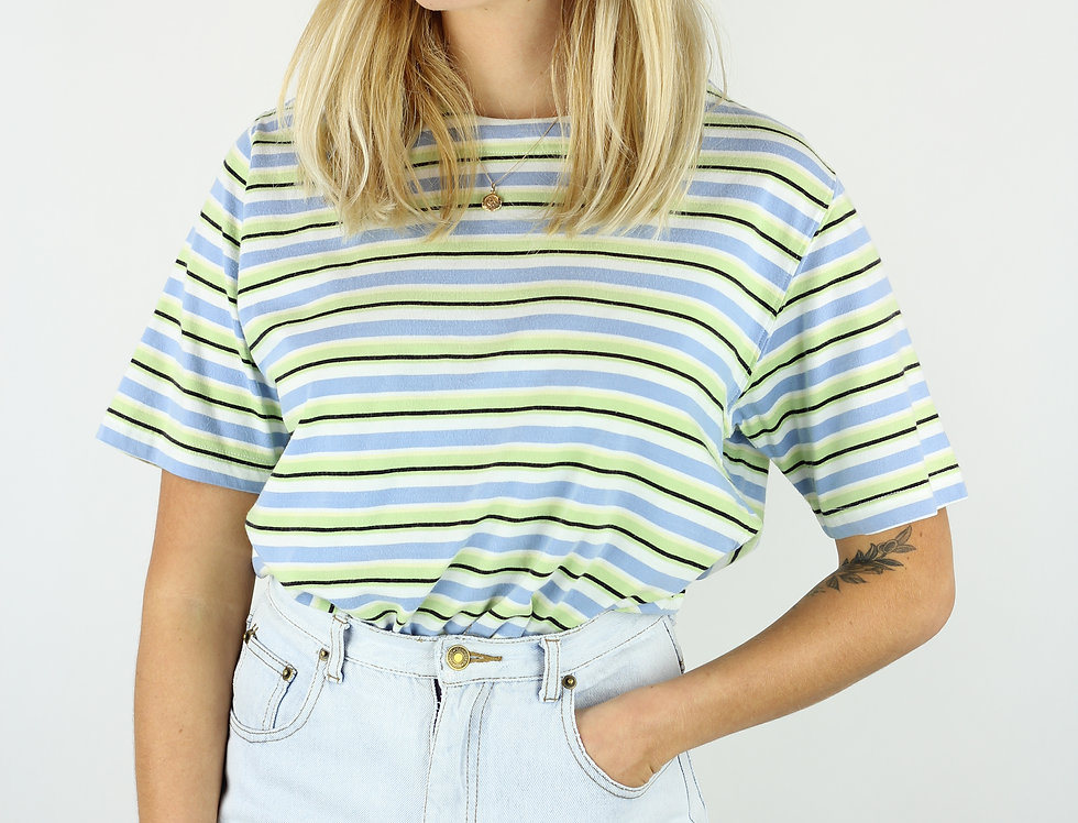 70s Stripes T