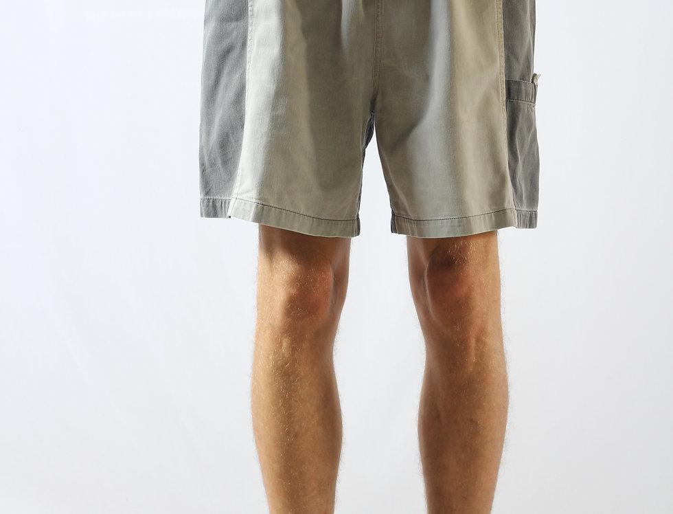 Retro two tone shorts