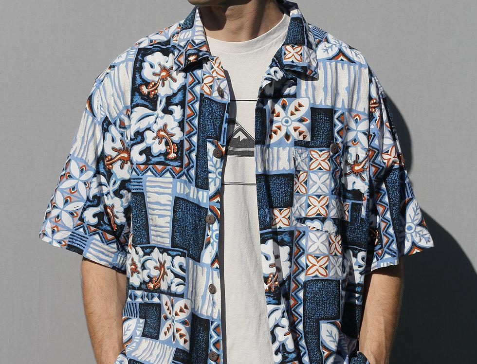 Hang Ten Surf Hawaiian Shirt