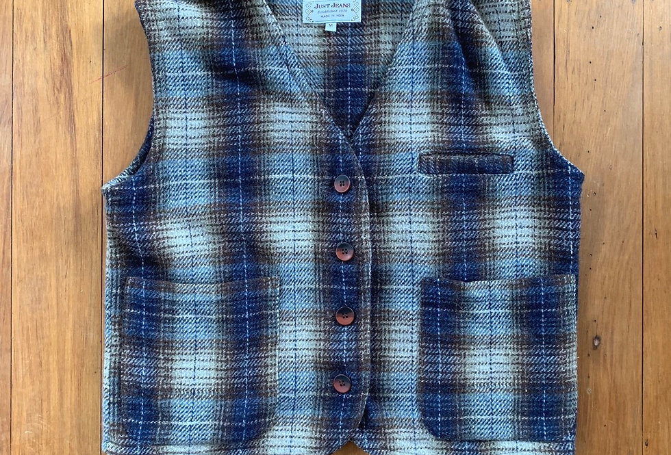 90's Just Jeans Vest