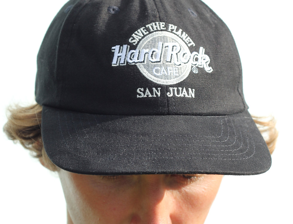 Hard Rock Cafe 'Save The Planet' Hat