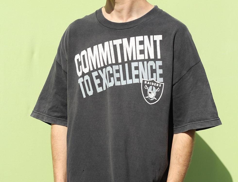 Reebok NFL Raiders Vintage T-shirt